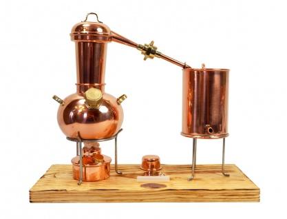 """"""" CopperGarden®"""" Destillieranlage 0, 5 L Arabia Supreme ? 1A Qualität ? Modell 2018 mit Aromasieb"""
