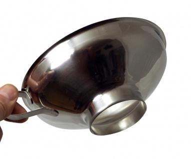 Baumalu XXL Einfülltrichter aus Edelstahl für große Gläser