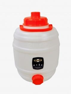 """"""" Speidel"""" Mostfass 12 Liter ? mit 2 Deckeln"""