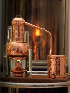 """"""" CopperGarden®"""" Destillieranlage Arabia 0, 5L mit Aromasieb"""
