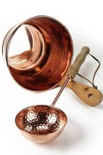 """"""" CopperGarden®"""" Saunaeimer mit Kelle - Schwalleimer aus Kupfer"""