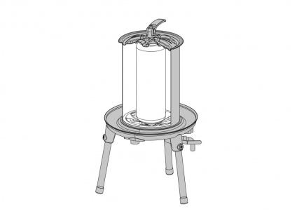 """"""" Speidel"""" hydraulische Obstpresse - 40 Liter - Edelstahl - Vorschau 3"""