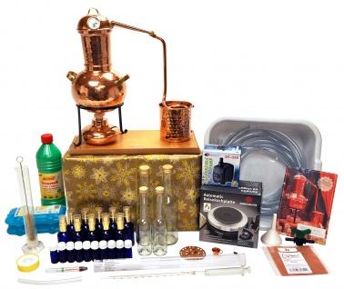 """WEIHNACHTSANGEBOT: """" CopperGarden®"""" Destillieranlage ARABIA 2 Liter Tischdestille - Super XXL Sorgenfrei Paket"""