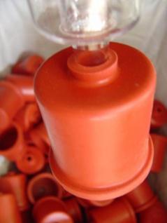 SET: Gummikappe 44 mm & Gärspund Hobby (passend zum 5 Liter Glasballon) - Vorschau 3