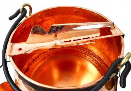 CopperGarden® Feuerzangenbowle ? 20 Liter Kupferkessel ? mit allem Zubehör - Vorschau 3