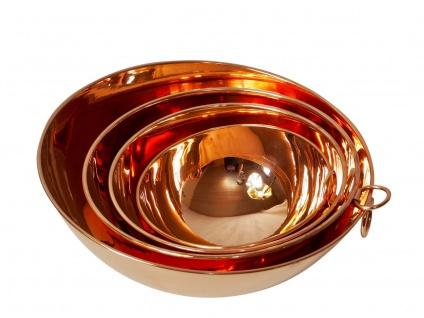 """"""" CopperGarden"""" Rührschüssel aus Kupfer, Größe M = Ø 24 cm - Vorschau 3"""