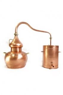 """ CopperGarden®"" Destille Alembik, 20L lifetime Supreme & Thermometer"