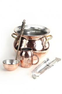 """"""" CopperGarden®"""" SET ? Feuerzangenbowle Kupfer ? verzinnt"""