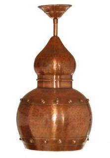 """"""" CopperGarden®"""" Hängelampe aus Kupfer, oxidiert - Vorschau 2"""