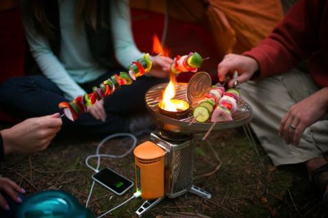 """"""" BioLite"""" CampStove Bundle mit Grill und Kessel - Vorschau 5"""