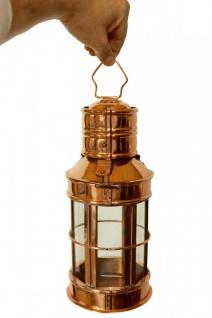 """"""" CopperGarden®"""" Laterne, Kupfer & Glas, 30cm - Vorschau 4"""