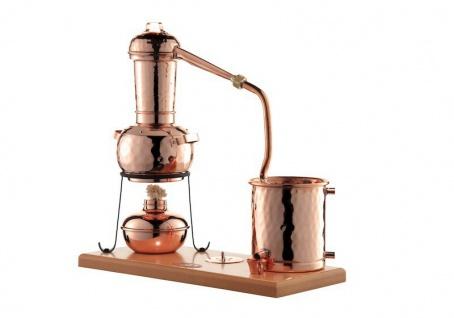 CopperGarden® Destille Arabia 0, 5 Liter mit Zubehör - legal Destillieren - Vorschau 2