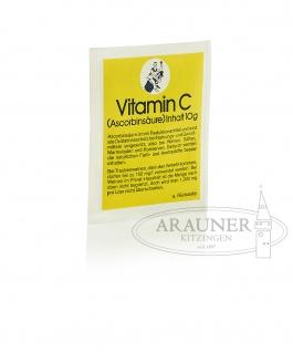 ARAUNER Vitamin C ? Ascorbinsäure ? 10 Gramm Beutel