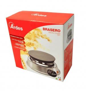 """"""" Ardes"""" Kochplatte Brasero ? 16 cm ? 1000 Watt Leistung - Vorschau 4"""