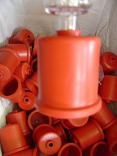 Gärkappe 44 mm mit Loch - für 5 Liter Glasballone - Vorschau 3