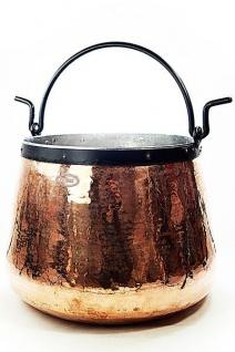 """"""" CopperGarden®"""" Kupferkessel / Hexenkessel 60 Liter """" verzinnt"""""""