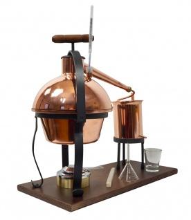 FERRARI Destillieranlage HOBBY - 2 Liter - Tischdestille im Sorgenfrei Paket mit allem Zubehör - Vorschau 3