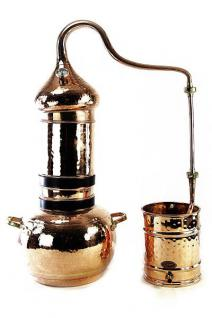 """ CopperGarden®"" Kolonnenbrennerei 10L & "" Al-Ambik®"" Thermometer"
