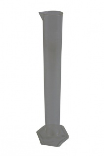 """ Hecht Assistent"" Messzylinder 100 ml aus lebensmittelechtem Kunststoff - alkoholresistent - Vorschau 2"