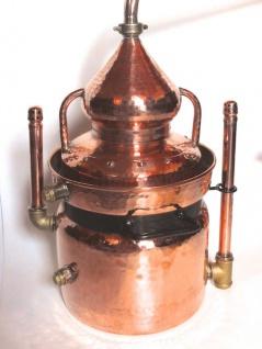 """"""" CopperGarden®"""" Wasserbaddestille HYDRO 10 Liter mit offenem Wasserbad - Vorschau 2"""