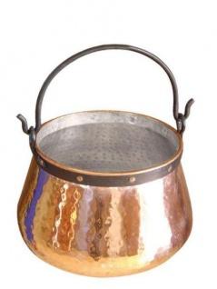 """"""" CopperGarden"""" Kupferkessel 3 Liter verzinnt - Hexenkessel"""
