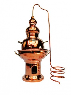 """ CopperGarden"" Aromalampe Alembik groß"
