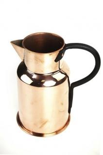 """"""" CopperGarden"""" Kupferkanne 1 Liter - antibakterielle Kaffee- oder Milchkanne"""