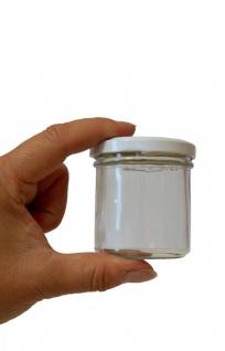 Einmachglas mit weitem Hals, 167 ml mit Deckel