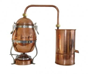 """"""" MS"""" Destille """" Hobby"""" 1, 8 Liter ? Mini-Hausbrennerei mit Spiritusbrenner"""