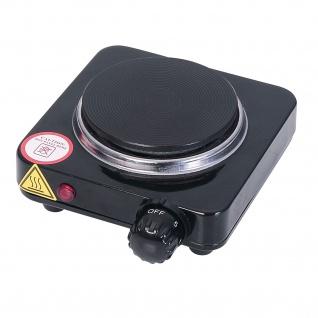 """"""" Ardes"""" Elektrische Mini-Kochplatte nur 10, 5 cm bei 500 Watt - schwarz"""