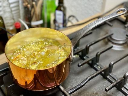 """"""" Baumalu"""" Kasserolle 12 cm / 0, 6 Liter verzinnt - schwere Qualität - Vorschau 2"""