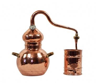 """ CopperGarden®"" Destille Alembik 2L & Thermometer"