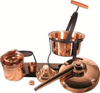 """CopperGarden® Destillieranlage """" Hobby II"""" ? 2, 5 Liter Tischdestille ? universell einsetzbare Hobbybrennerei - Vorschau 3"""