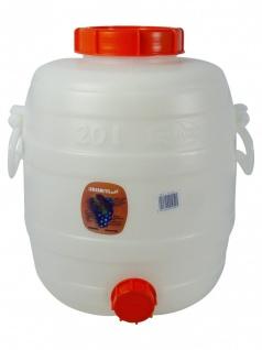""""""" Speidel"""" Mostfass 20 Liter ? mit 2 Deckeln - Vorschau 1"""