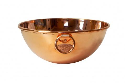 """"""" CopperGarden"""" Rührschüssel aus Kupfer, Größe M = Ø 24 cm - Vorschau 2"""