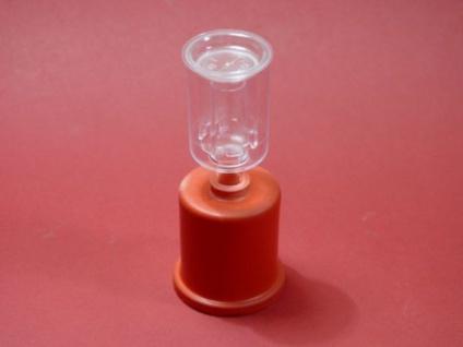 SET: Gummikappe 44 mm & Gärspund Hobby (passend zum 5 Liter Glasballon) - Vorschau 2