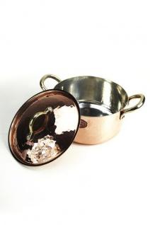 """"""" CopperGarden®"""" Kupfertopf / Kasserolle 20 cm - Vorschau 2"""