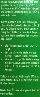 """"""" Arauner"""" Hefe Lebendkultur Steinberg 20 ml = 50 Liter - Vorschau 3"""