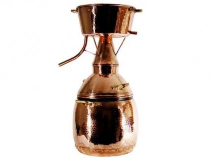 """"""" CopperGarden®"""" Destille ALQUITARA 50 Liter - traditionelle Ausführung"""