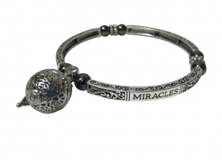 "Armband "" MIRACLES"" mit Duftkugel und Magneten"