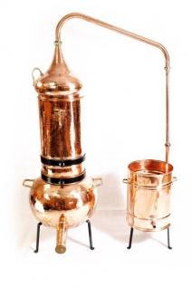 """"""" CopperGarden®"""" Destille Kolonnenbrennerei ? 50 Liter ? mit Thermometer"""