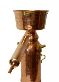 CopperGarden® Alquitara Plus ? 20 Liter ? Destille für ätherische Öle