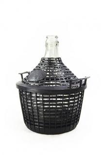 Glasballon mit Schutzkorb, 10 L - zum Lagern und Vergären - Vorschau 2