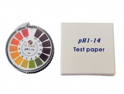 Al-Ambik® PH Indikatorpapier PH 1-14 ? 5 Meter Rolle ? Universal PH-Tester - Vorschau 4