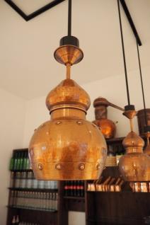 """"""" CopperGarden®"""" Hängelampe aus Kupfer, oxidiert - Vorschau 5"""