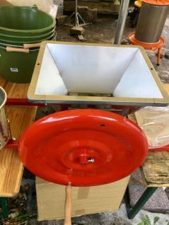 Obstmühle, 12 Liter, mechanisch - praktische Hilfe beim Einmaischen - Vorschau 3