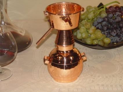 """"""" CopperGarden®"""" Deko Destille Alquitara 0, 5L - Vorschau 3"""