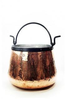 """"""" CopperGarden"""" Kupferkessel 20 Liter verzinnt - Hexenkessel"""