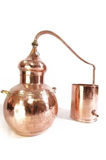 """ CopperGarden®"" Destille Alembik 30L ECO mit Thermometer"