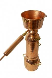 CopperGarden® Alquitara Plus ? 3 Liter ? Destille für ätherische Öle